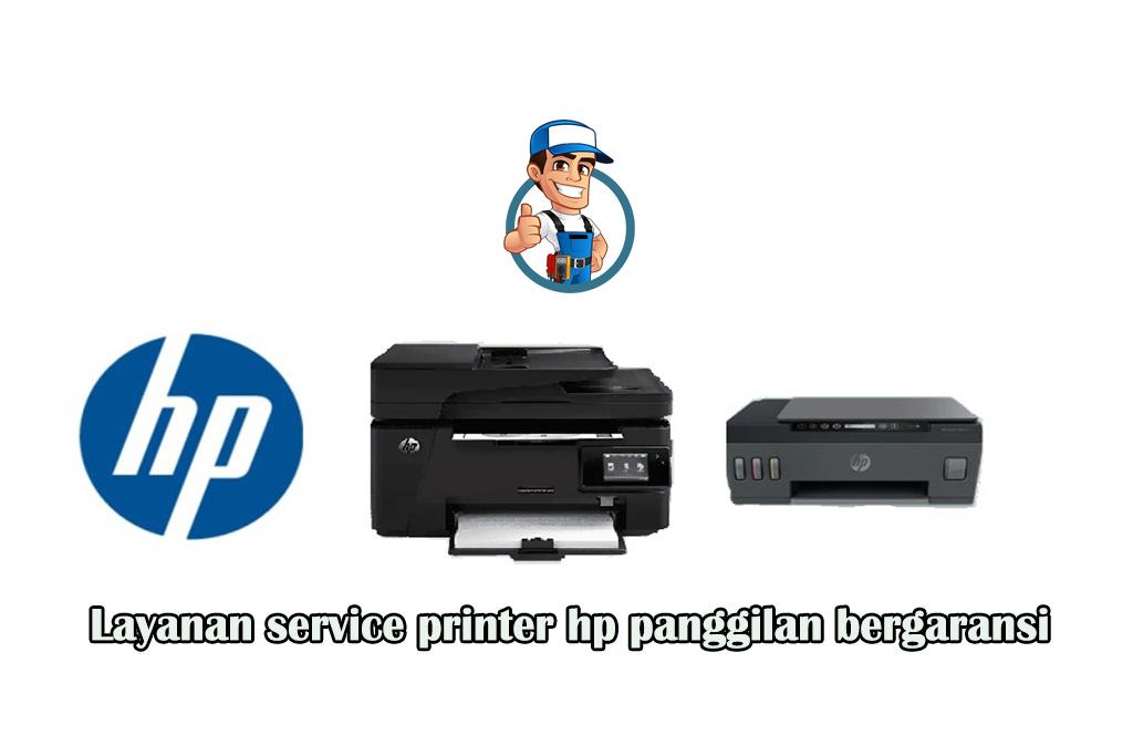 Layanan service printer hp panggilan bergaransi