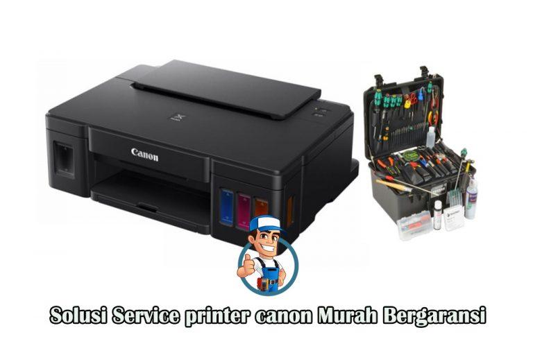 Solusi Service printer canon Murah Bergaransi